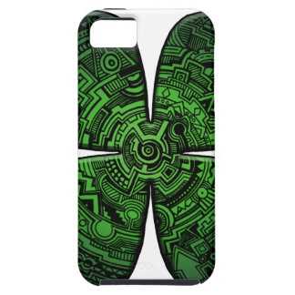 St. Patrick's Day Four Leaf Clover/Shamrock Celtic Case For The iPhone 5