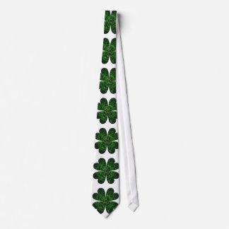 St. Patrick's Day Four Leaf Clover/Shamrock Celtic Tie