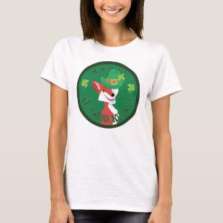 St. Patrick's Day Fox T-Shirt