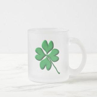 ST Patricks Day Frosted Glass Mug