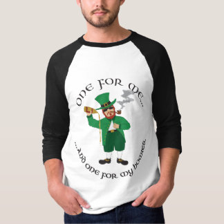 St. Patrick's Day - Gangsta Leprechaun Tshirt