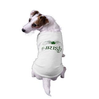 "St. Patrick's Day ""Get Your Irish On""-Dog Sweater Shirt"