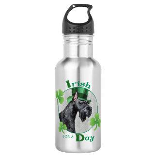St. Patrick's Day Giant Schnauzer 532 Ml Water Bottle