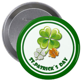 St. Patrick's Day Gift Buttons Pin