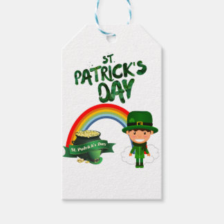 St Patrick's Day gifts Gift Tags