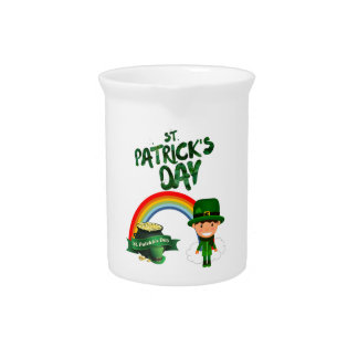 St Patrick's Day gifts Pitcher