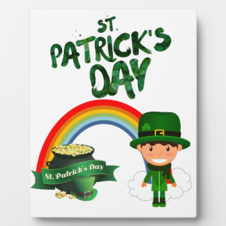 St Patrick's Day gifts Plaque