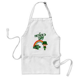 St Patrick's Day gifts Standard Apron