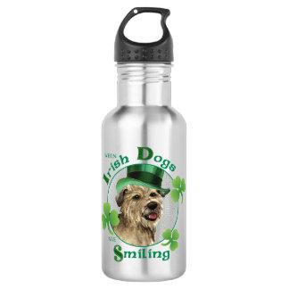 St. Patrick's Day Glen of Imaal Terrier 532 Ml Water Bottle