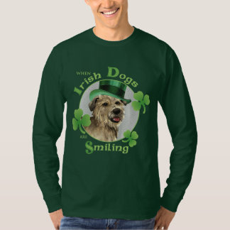 St. Patrick's Day Glen of Imaal Terrier T Shirts