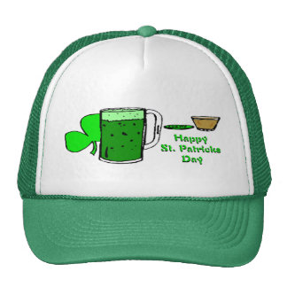 St Patrick's Day Green Beer 3 Cap