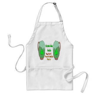 St Patrick's Day Green Beer Standard Apron