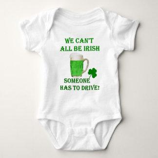 st patricks day green beer baby bodysuit
