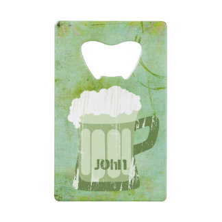 St Patricks Day Green Beer Grunge•Custom