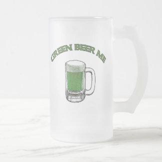 St. Patrick's Day Green Beer Me Mug