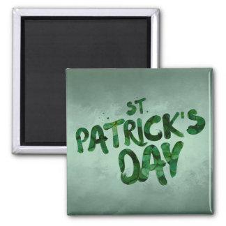 St Patrick's Day Green Clover Irish Celtic Magnet