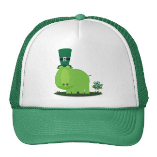 St Patrick's day: Green HIPPO Cap