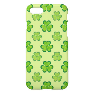St. Patrick's Day Green Shamrocks Lucky Clovers iPhone 7 Case