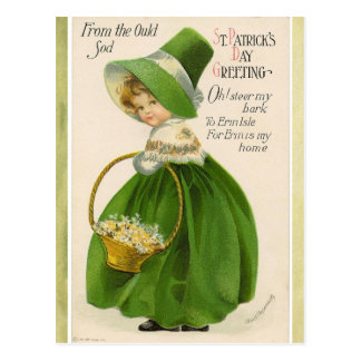 St. Patrick's Day Greeting Postcard