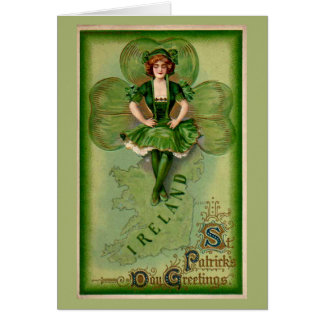 St Patricks Day Greetings Greeting Cards