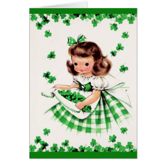 St. Patrick's Day Greetings. Customizable Card