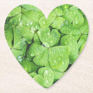 St. Patrick's Day Heart Coaster
