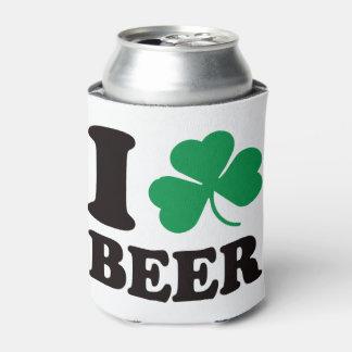 St Patricks Day I Shamrock Beer Can Cooler