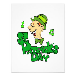 St Patrick's Day Personalized Announcement