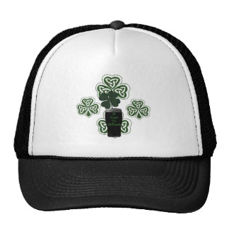 """St Patrick's Day Irish Beer Celebration products"" Mesh Hats"