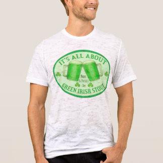 St. Patrick's Day Irish Green Beer / Stout T-Shirt