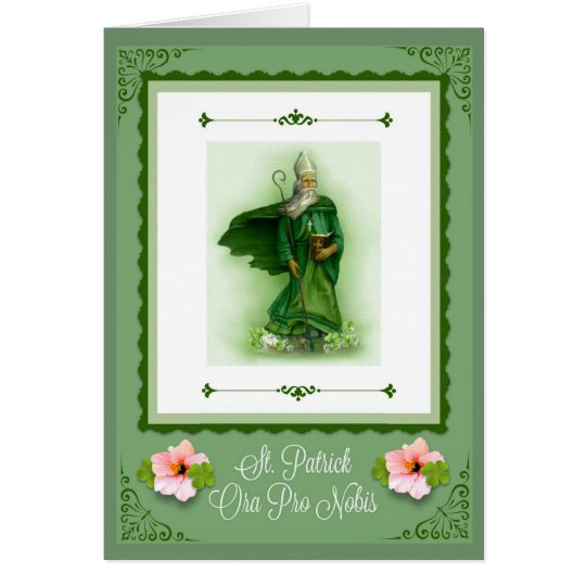 St. Patrick's Day Irish Greeting/Note Card
