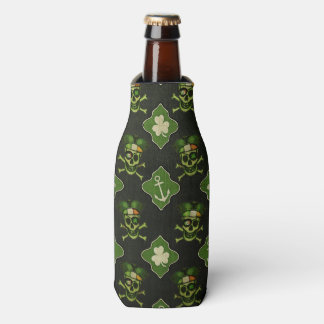 St. Patrick's Day Irish Pirate Bottle Cooler