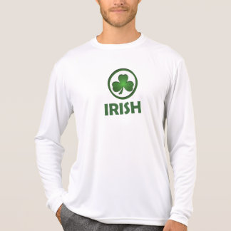 St. Patrick's Day. Irish Shamrock Green T-Shirt