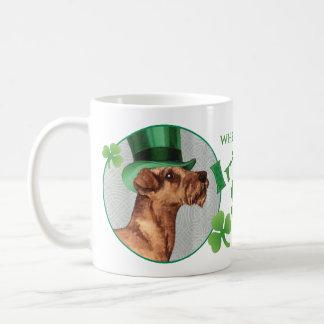 St. Patrick's Day Irish Terrier Coffee Mug