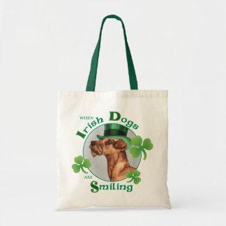 St. Patrick's Day Irish Terrier Tote Bag