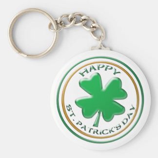 St Patricks Day keychain