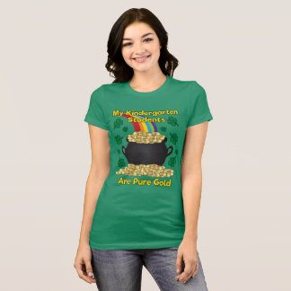 St. Patrick's Day Kindergarten Teacher T-Shirt