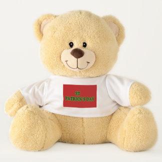 st patrick's day Large teddy bear