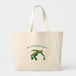 St. Patricks day Large Tote Bag