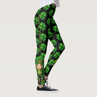 St Patrick's Day Leggings Saint Patrick Pants