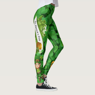St Patrick's Day Leggings Saint Patricks Pants