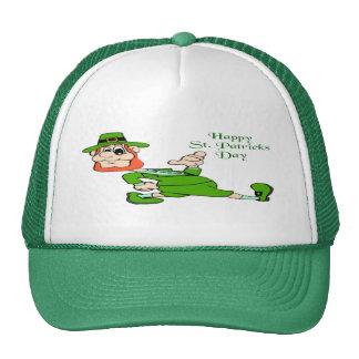 St. Patrick's Day Leprechaun Mesh Hat