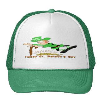 St Patrick's Day Leprechaun Gold Cap