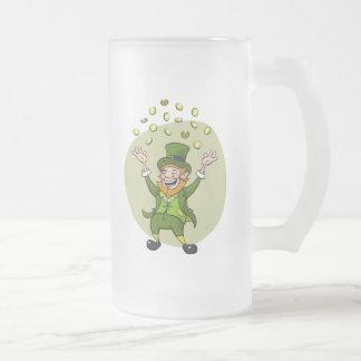St. Patrick's Day Leprechaun Coffee Mugs