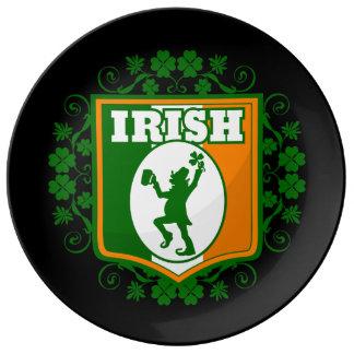 St Patrick's Day Leprechaun Plate