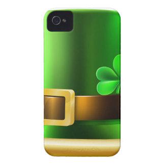 St Patricks Day Leprechaun Shamrock Green Hat Case-Mate iPhone 4 Case