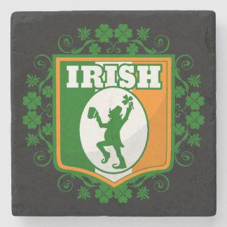 St Patrick's Day Leprechaun Stone Coaster