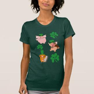 St Patrick's Day little musicians Women T-shirt