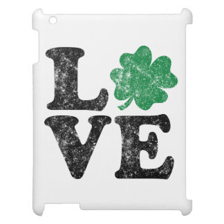 St Patrick's Day LOVE Shamrock Irish Case For The iPad