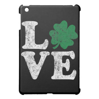 St Patrick's Day LOVE Shamrock Irish Case For The iPad Mini